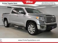 Toyota Certified! Carfax One Owner! 2016 Toyota Tundra