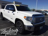 Recent Arrival! 2016 Toyota Tundra in White, AUX