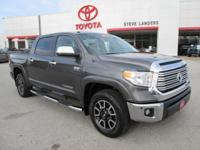 Recent Arrival! New Price! 2016 Toyota Tundra Limited