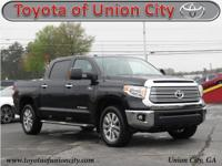 CARFAX One-Owner. Black 2016 Toyota Tundra Limited