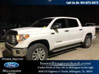 CARFAX One-Owner. Super White 2016 Toyota Tundra