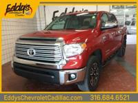 This 2016 Toyota Tundra 4WD Truck LTD is proudly
