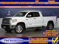 **** JUST IN FOLKS! THIS 2016 TOYOTA TUNDRA LIMITED HAS