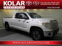 2016 Toyota Tundra Limited Double Cab. Leather Seat