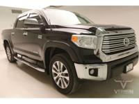 This 2016 Toyota Tundra Limited Crew Cab 4x4 with only