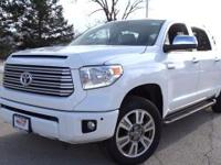 Options:  2016 Toyota Tundra Platinum|Super