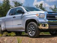 Options:  2016 Toyota Tundra Double Cab 5.7L V8 6-Spd