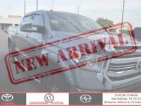 From work to weekends, this Silver 2016 Toyota Tundra
