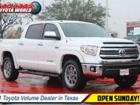 This Toyota Tundra has a strong Regular Unleaded V-8