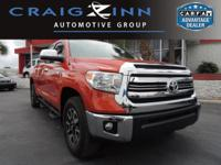 PREMIUM & KEY FEATURES ON THIS 2016 Toyota Tundra 2WD