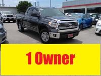 Carfax One Owner and CLEAN CARFAX. Tundra SR5, Toyota