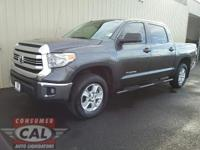 Options:  2016 Toyota Tundra 4Wd Crewmax 4.6L V8 6-Spd