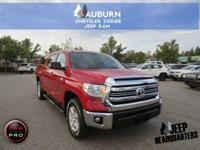 1 OWNER, 4WD, BLUETOOTH!  This 2016 Toyota Tundra