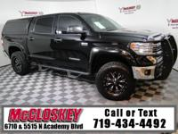Rugged and equipped 2016 Toyota Tundra SR5 CrewMax w/