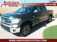 Toyota Certified. One-Owner. Clean CARFAX. Arizona