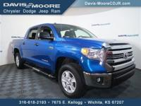 This Toyota Tundra 4WD Truck has a dependable Regular