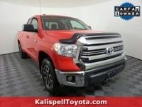 Options:  2016 Toyota Tundra 4Wd Truck Sr5|Red/|V8 5.7