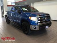 From work to weekends, this Blue 2016 Toyota Tundra 4WD