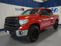 Red 2016 Toyota Tundra SR5 CrewMax 4WD 6-Speed