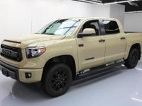 2016 Toyota Tundra with 5.7L V8 Engine,Leather Seats
