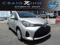PREMIUM & KEY FEATURES ON THIS 2016 Toyota Yaris