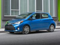 Yaris SE, Toyota Certified, 5D Hatchback, and 4-Speed