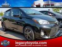 Clean CARFAX. 36/30 Highway/City MPG 2016 Toyota Yaris