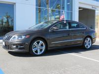 PREMIUM & KEY FEATURES ON THIS 2016 Volkswagen CC