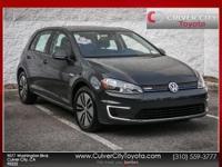 Options:  2016 Volkswagen E-Golf Se Black Carfax One
