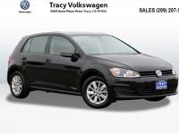 Options:  2016 Volkswagen Golf Tsi S 4-Door|Black|2016