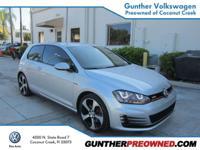 WorldAuto Certified Preowned. 2016 VW GTI 2 Doors