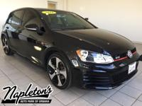 Recent Arrival! 2016 Volkswagen Golf GTI in Black, AUX