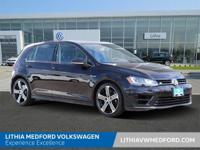 Golf R trim. CARFAX 1-Owner. $1,500 below Kelley Blue