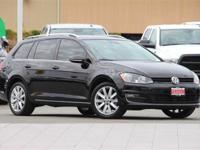 Clean CARFAX. Certified. Black 2016 Volkswagen Golf