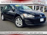 New Price! Black 4D Wagon 2016 Volkswagen Golf
