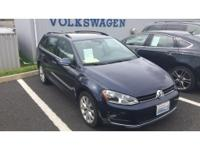 This 2016 Volkswagen Golf SportWagen has a 1.8 liter 4