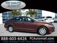 Dark Bronze 2016 Volkswagen Jetta 1.4T S FWD 6-Speed
