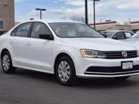 This turbocharged 2016 Volkswagen Jetta 1.4T S comes