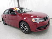 2016 Volkswagen Jetta 1.4T SE Red New Price! Priced