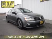 CARFAX One-Owner. Clean CARFAX. Gray 2016 Volkswagen
