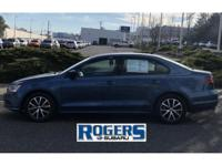 This 2016 Jetta is cool! With its beautiful Blue