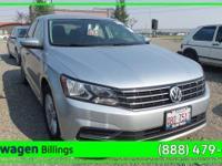 Silver 2016 Volkswagen Passat 1.8T R-Line FWD 6-Speed