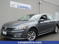 Passat S. Volkswagen Certified Pre-Owned means you not