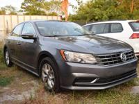 2016 Passat S. 1.8L TSI Turbocharged engine with a