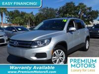 BUY WITH CONFIDENCE! CARFAX 1-Owner Tiguan and CARFAX