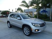 VW Certified Preowned. Nice 2016 VW Tiguan SE with