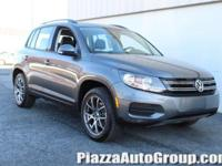 Pepper Gray Metallic 2016 Volkswagen Tiguan S 4Motion
