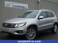 Tiguan SE 4Motion w/Panoroof. Special Financing rates