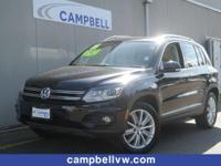Tiguan SE w/Panoroof, backup camera and much