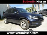 CARFAX One-Owner. Clean CARFAX. 2016 Volkswagen Tiguan